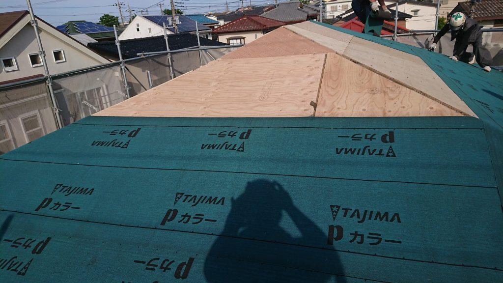 屋根工事工程06